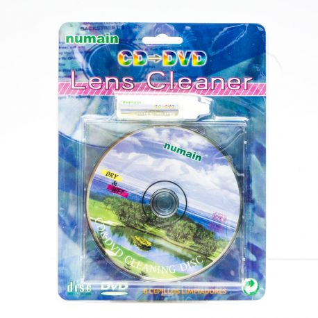 CD, DVD, Bluray cleaner