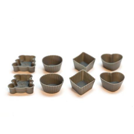 8 mini-Moules silicone