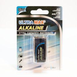 pile 9V alkaline longue durée
