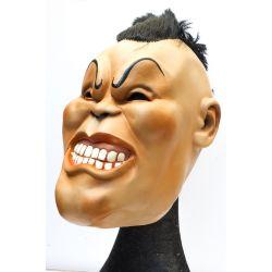 Masque latex avec perruque