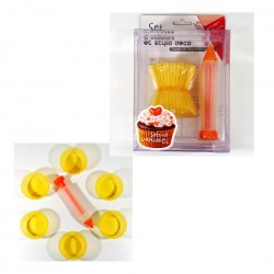 Kit Cupcakes silicone