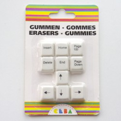 Gommes Clavier