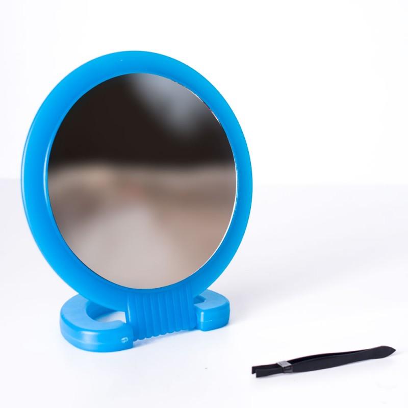 Gros miroir double face en verre boutique moins for Miroir double face