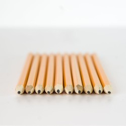 10 Crayons à papier HB